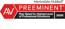 AV LexisNexis Martindale-Hubbell | Peer Review Rated